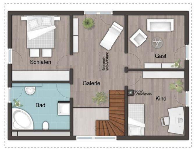 Leben sie ihren traum familienhaus mit freiraum for Traditionell modern bauen