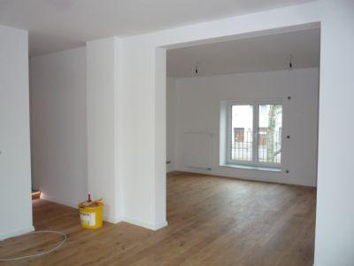 Wohnzimmer Kaminanschluss vorbereitet