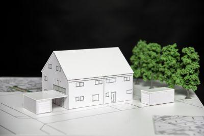 Ostansicht Planungsmodell