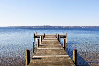 Der See vor der Haustür