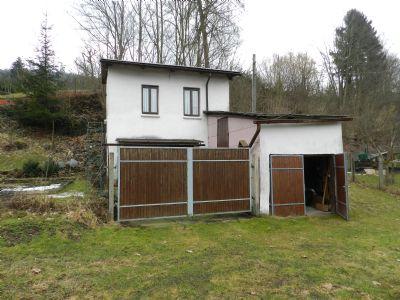 Gartenhaus mit Garage