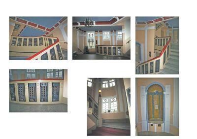 Jugendstiltreppenhaus bereits bestens renoviert