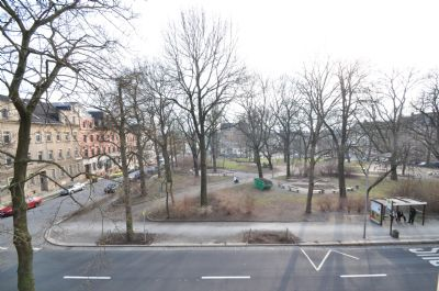 Ansicht Margareten 32 Blick aus dem Fenster