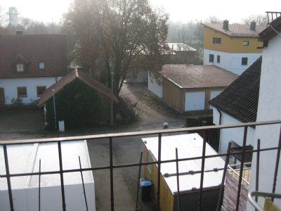 Blick vom Balkon Ri.Süden