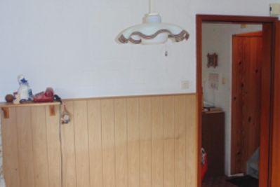 Küche zu Eingang WC Bad EG