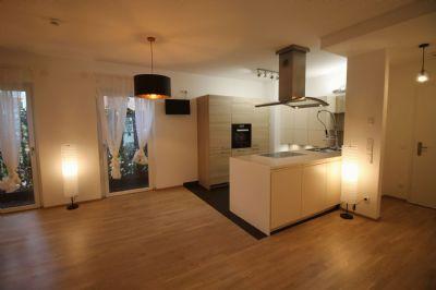 Küche-Wohnen-Eingang