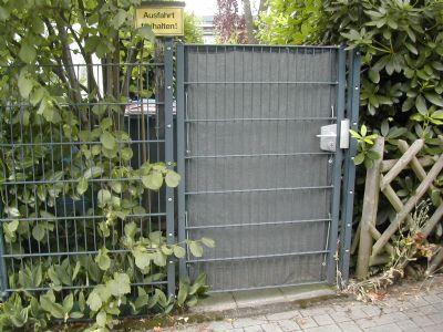 Hintereingang/Gartentor