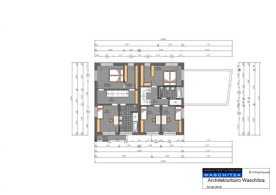 Grundrissplan Obergeschoss