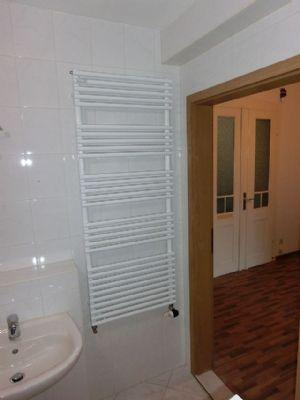 Blick aus dem Badezimmer