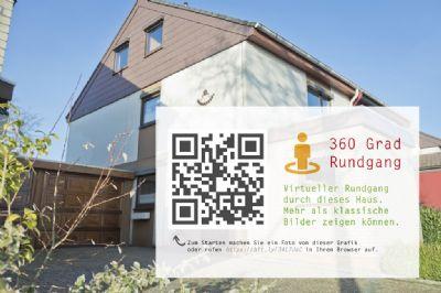 Attraktive und geräumige Doppelhaushälfte mit Garten von privat (360° Ansicht!)