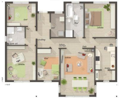 entspannt und gro z gig leben ohne stufen bungalow straubing 2v9yx3m. Black Bedroom Furniture Sets. Home Design Ideas