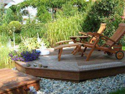 Entspannung im Garten - Beispiel