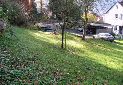Baugrundstück zum Stadtpark