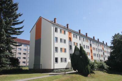 Das Wohngebäude auf der Richard-Wagner-Straße