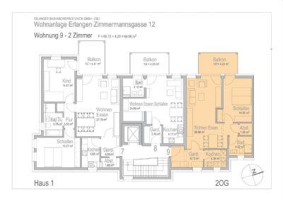 2 zimmer neubau eigentumswohnung in erlangen wohnung. Black Bedroom Furniture Sets. Home Design Ideas