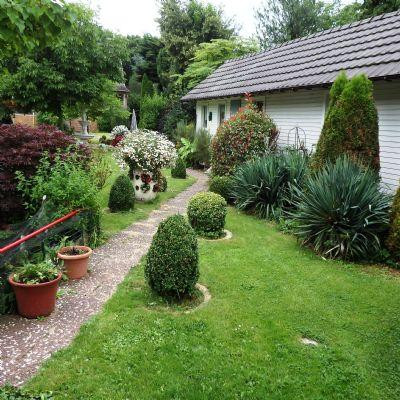Frontansicht Gartenhaus