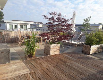 Ein Platz an der Sonne ... Penthaus mit 2 wunderschönen großen Terrassen in Hanau von privat