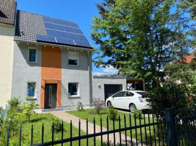 Einfamilienhaus in attraktiver Wohnlage in Hanau, modernes KfW 40 Energiespar-Haus