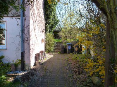Eingangsbereich, Zugang zum Garten