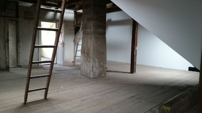 Haupthaus Dachboden