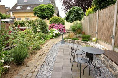 Sitzplatz im oberen Garten