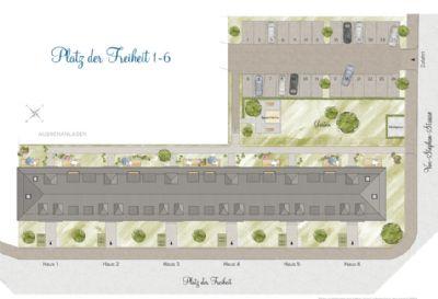 Freiflächen- und Lageplan