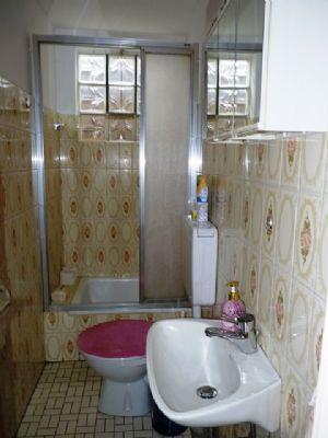 Der WC-Raum im Obergeschoss