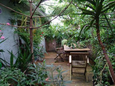 Die Terrasse: Natur Pur!