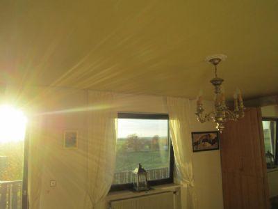 Schlafzimmer - letzter Sonnengruß