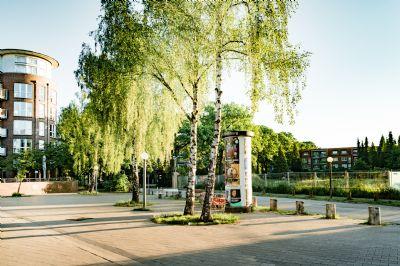 Hier entsteht bad der Schnelsener Hofgarten