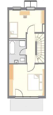 neuwertiges rmh im kfw 70 standard mit garten f r die. Black Bedroom Furniture Sets. Home Design Ideas