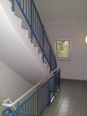 Großzügige Treppenhäuser