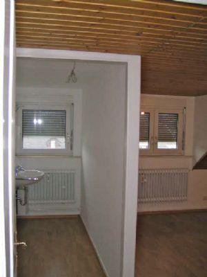 Separater Waschbereich zum Schlafzimmer