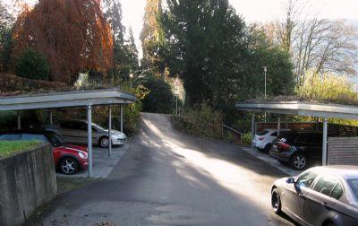 Carport-Anlage Zufahrt Stadtpark