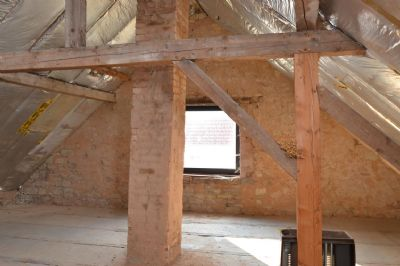unausgebautes Dachgeschoss
