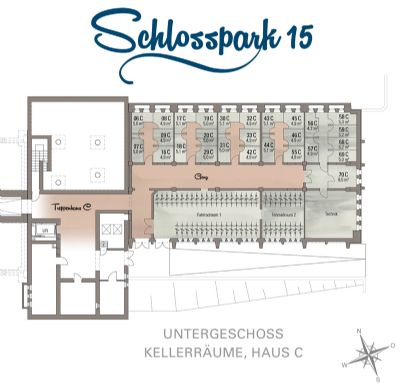 Kellergrundriss - Haus C