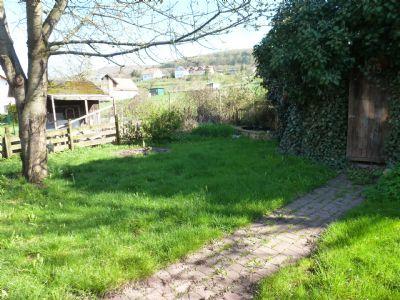 Garten, Blick zur Ortsrandlage