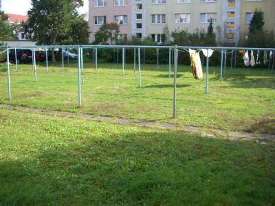 Trockenplatz im Hof