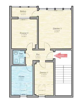 direkt am michaelisplatz tolle wohnung in begehrter lage mit wintergarten etagenwohnung. Black Bedroom Furniture Sets. Home Design Ideas