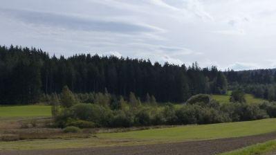 Landschaft im Fichtelgebirge