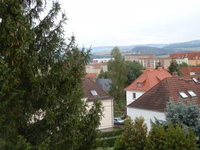 Ausblick über Siedlung