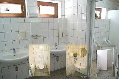 WC-Einblicke...