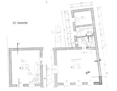 Grundriss WGH_EG Büro/Ausstellung