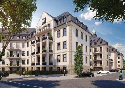 Freiraum mitten im Nordend! 4-Zimmer mit ~ 45 m² Wohn-/Essbereich und 3,88 m Raumhöhe