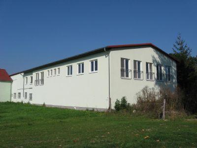 Rückansicht Bürogebäude