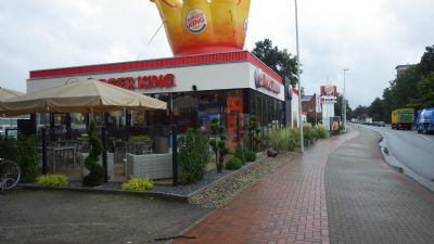 gewerbe grundst ck in toplage zwischen burger king w rth. Black Bedroom Furniture Sets. Home Design Ideas