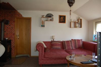 Wohnzimmer Wohnung Dachgeschoss