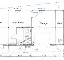 Rückgebäude Grundriss OG (genehmigt)