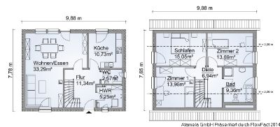 ihr wunschhaus zum u erst attraktiven preis erst bauen dann zahlen einfamilienhaus mauer. Black Bedroom Furniture Sets. Home Design Ideas