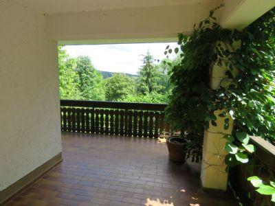 Blick von der unteren Terrasse